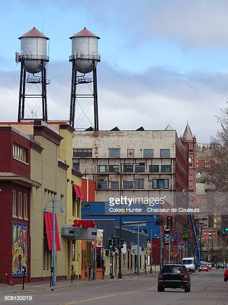 duluth reservoirs street - duluth minnesota stock pictures, royalty-free photos & images