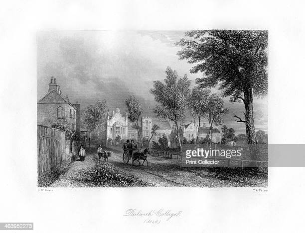 Dulwich College Dulwich southeast London 1846 View of the boys' public school which was founded in 1619 by Edward Alleyn an Elizabethan actor