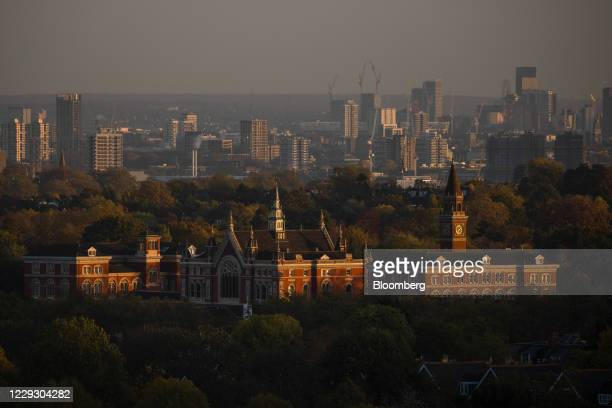 Dulwich College in London, U.K., on Monday, Oct. 26, 2020. London's pandemic-struck office market is crawling back to life. Photographer: Simon...