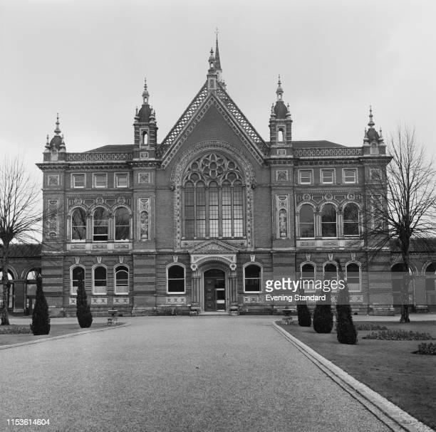 Dulwich College, London, UK, 7th April 1970.