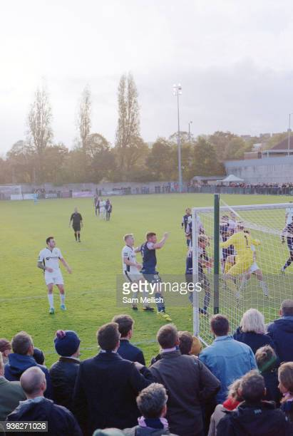 Dulwich Hamlet FC vs Burgess Hill Town FC at Champion Hill on 21st October 2017 in South London in the United Kingdom Dulwich Hamlet was founded in...