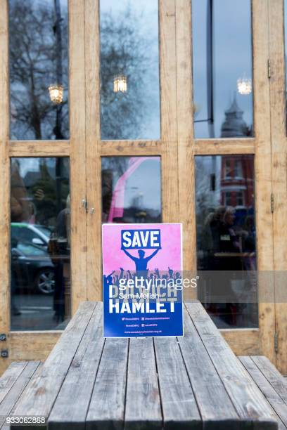 Dulwich Hamlet Football Club protest march from Goose Green to Champion Hill on 17th March 2018 in South London in the United Kingdom The nonleague...