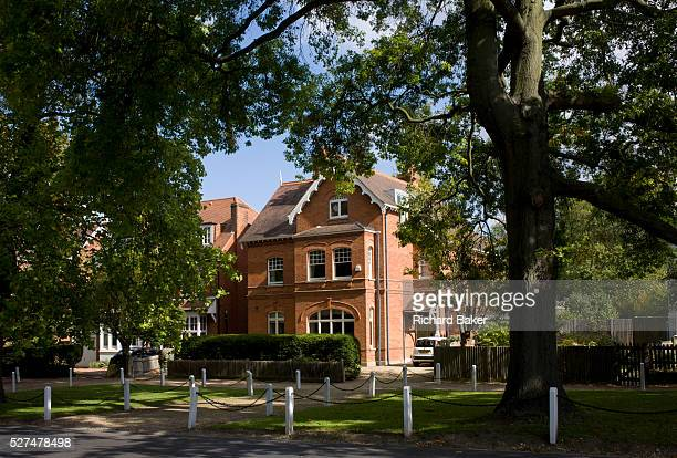Dulwich Village house architecture south London England This is a very prosperous location for house ownership near the famous Dulwich Picture...