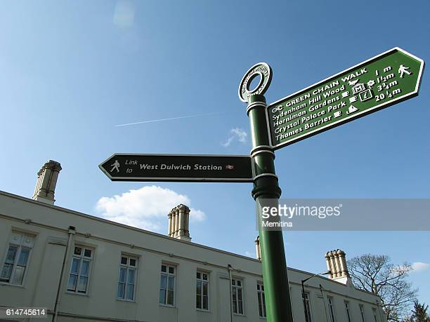 dulwich village - dulwich stock photos and pictures