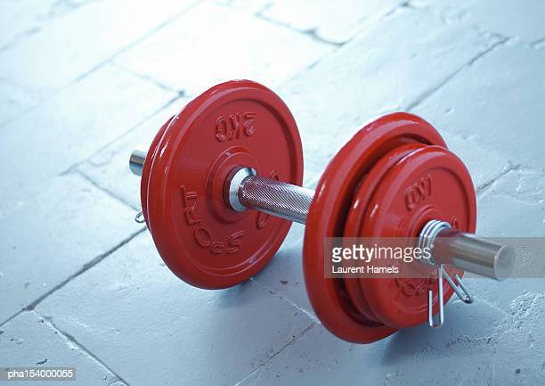 dumbbell and weights. - barbell stock pictures, royalty-free photos & images