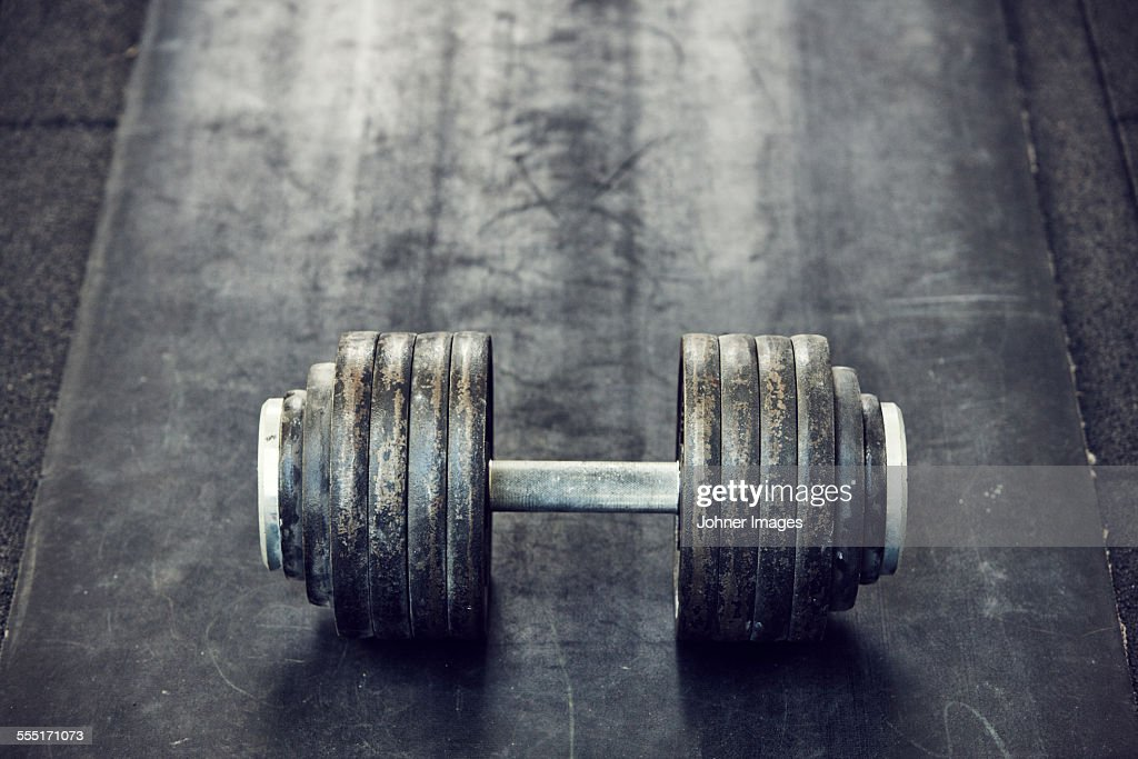 Dumbbell : Stock Photo