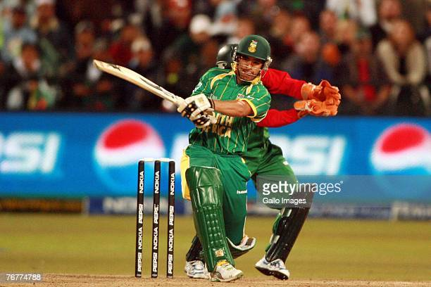 Duminy in action during the ICC Twenty20 World Championship match between South Africa and Bangladesh at Newlands Cricket Ground on September 15 2007...