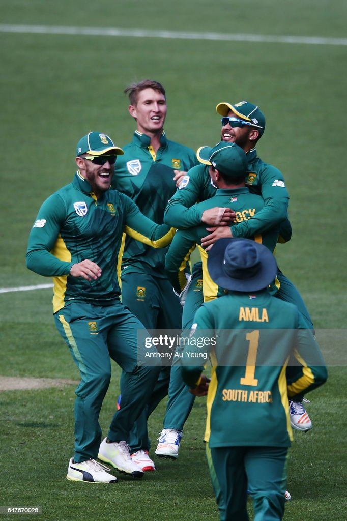 New Zealand v South Africa - 5th ODI