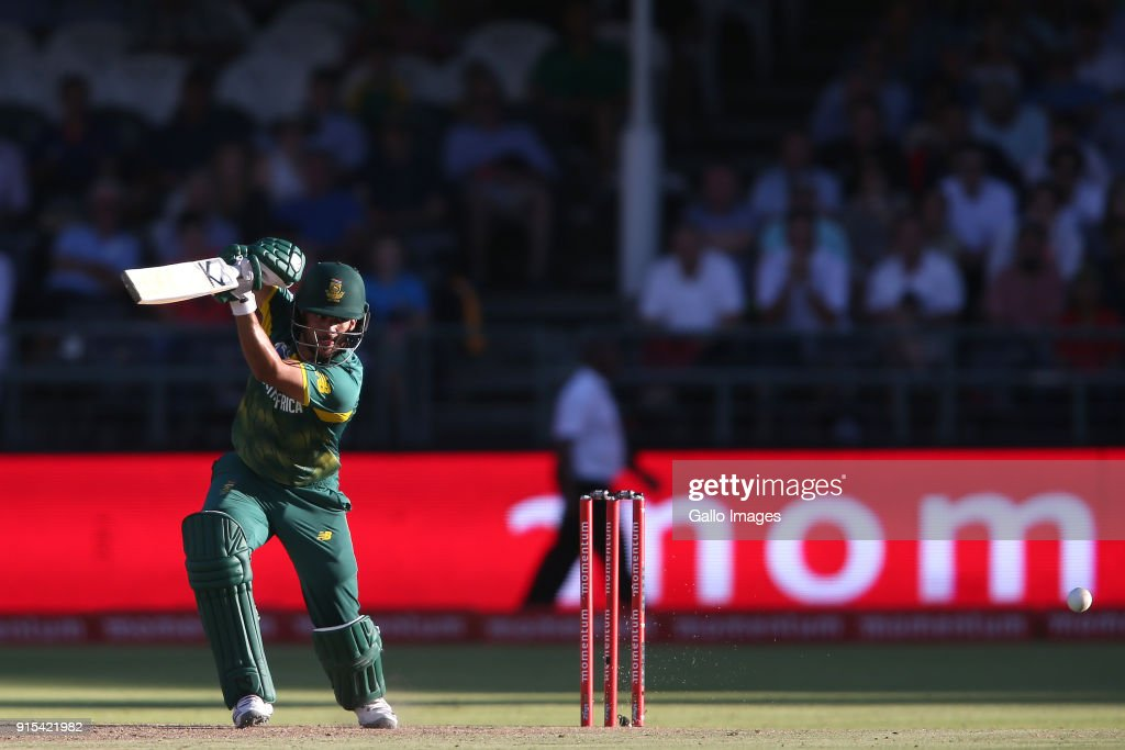 3rd Momentum ODI: South Africa v India : News Photo