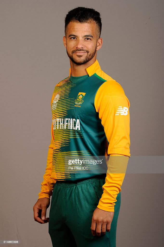 JP Duminy of South Africa poses during the official photocall for the ICC Twenty20 World on March 11, 2016 in Mumbai, India.