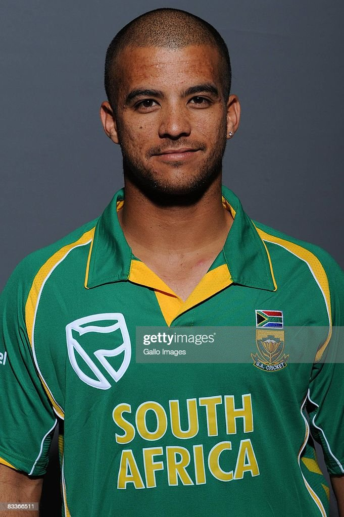 JP Duminy poses during the South African One Day International team portait session at Grayston Southern Sun on October 20, 2008 in Johannesburg, South Africa.