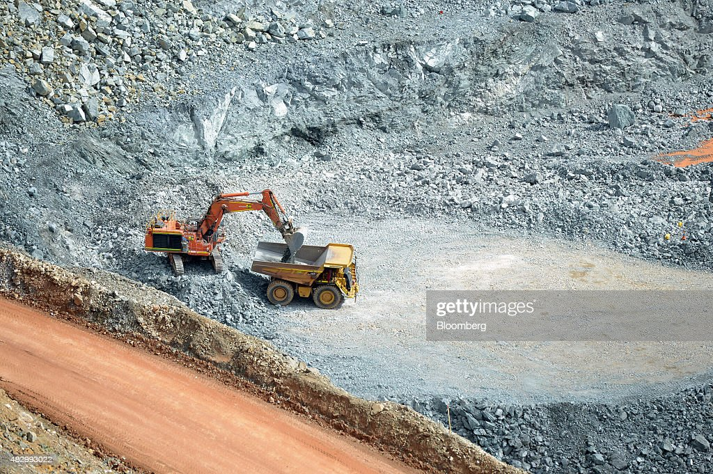 Norton Gold Fields Ltd.'s Mining Operations : News Photo
