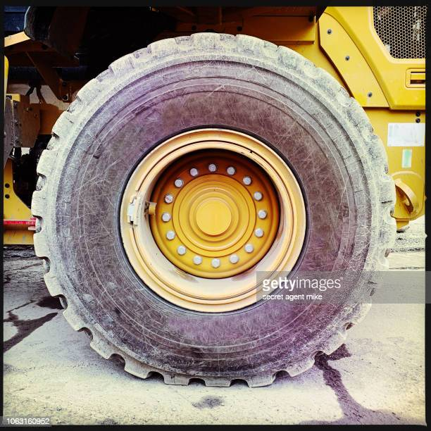 dump truck tire - big mike stock pictures, royalty-free photos & images