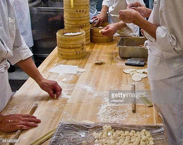 Dumpling kitchen, Hong Kong