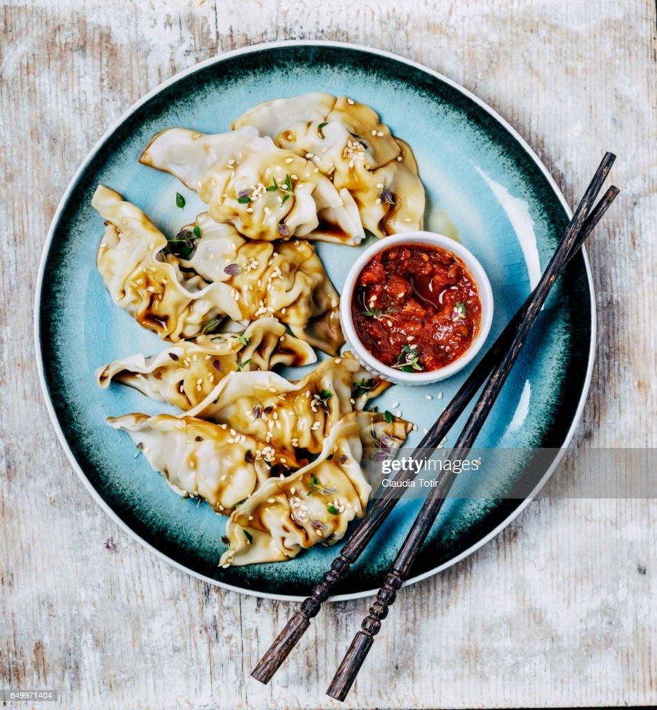Dumplings : Stock Photo