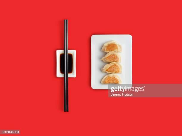 dumplings - chopsticks stock pictures, royalty-free photos & images