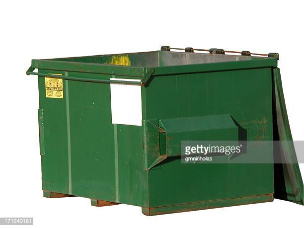 dumpster - garbage bin stock pictures, royalty-free photos & images