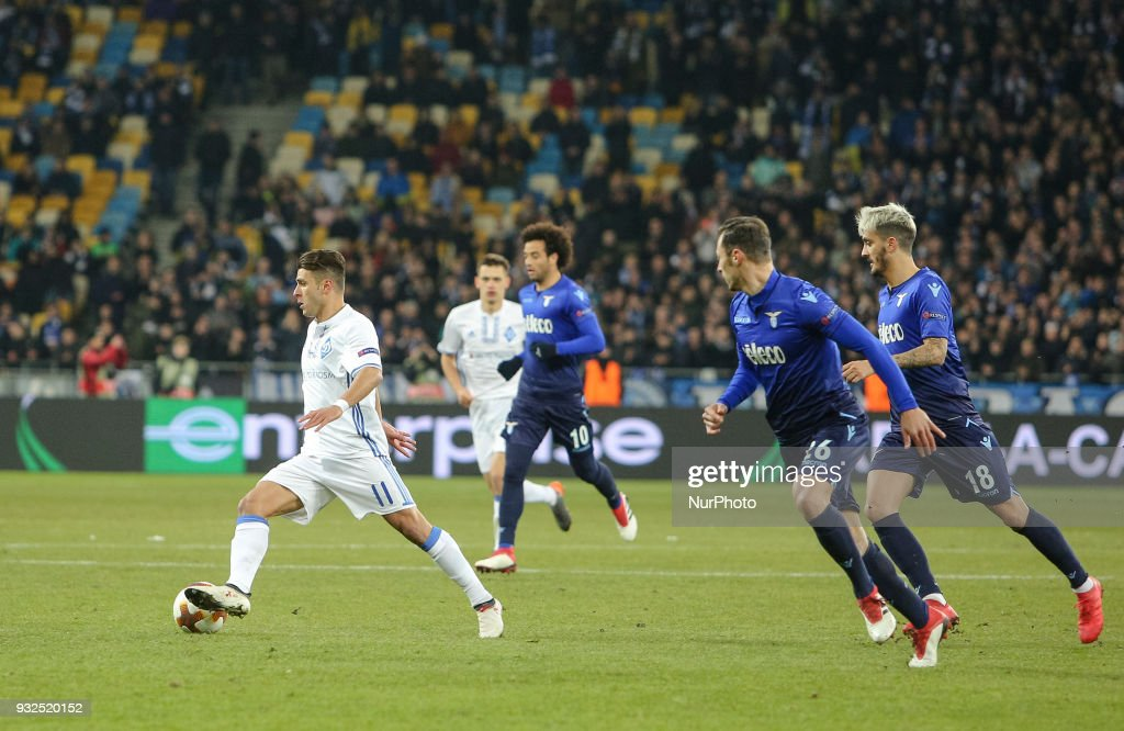 Dynamo Kiev v Lazio - UEFA Europa League Round of 16: Second Leg
