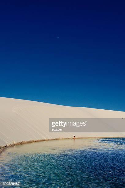 dunas de areia - barreirinhas stock pictures, royalty-free photos & images