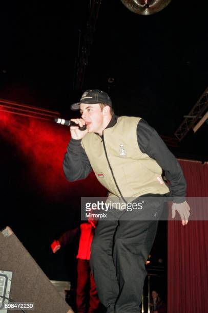 PJ Duncan at the The Mall Roadshow at The Mall nightclub in Stockton 20th December 1994
