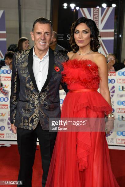 Duncan Bannatyne and Nigora Whitehorn attend Pride Of Britain Awards 2019 at The Grosvenor House Hotel on October 28 2019 in London England