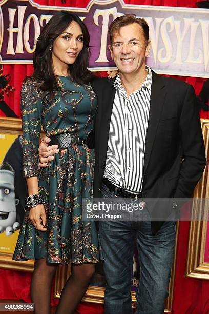 Duncan Bannatyne and Nigora Whitehorn attend the Hotel Transylvania 2 Tea Party and Gala Screening at The Soho Hotel on September 27 2015 in London...