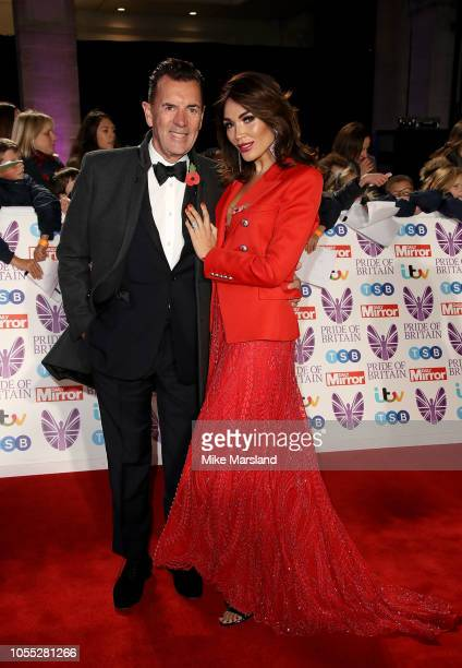 Duncan Bannatyne and Nigora Whitehorn attend the Pride of Britain Awards 2018 at The Grosvenor House Hotel on October 29 2018 in London England