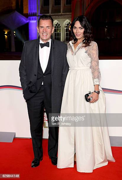 Duncan Bannatyne and Nigora Whitehorn attend The Sun Military Awards at The Guildhall on December 14 2016 in London England