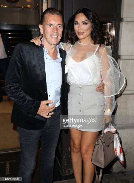 Duncan Bannatyne and Nigora Whitehorn attending the RSPCA Animal Champions Honours at BAFTA in London
