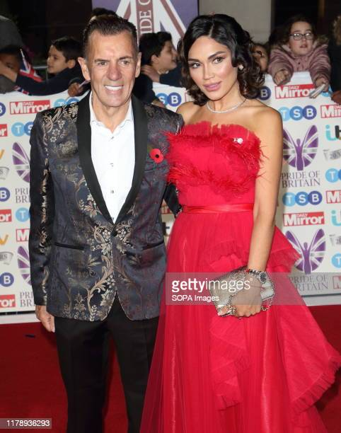 Duncan Bannatyne and Nigora Whitehorn on the red carpet at The Daily Mirror Pride of Britain Awards in partnership with TSB at the Grosvenor House...