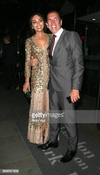 Duncan Bannatyne and Nigora Whitehorn seen attending NHS Heroes Awards at London Hilton Park Lane on May 14 2018 in London England