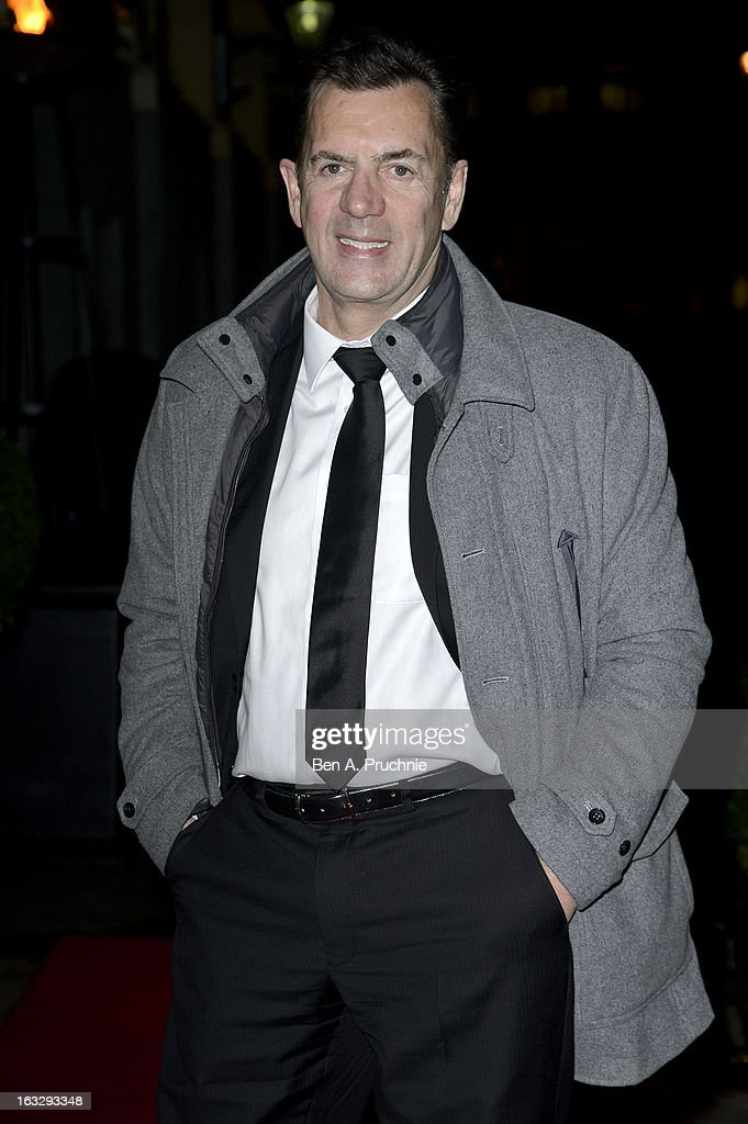 Duncan Bannatyne attends the Helping Hands VIP fundraising dinner in aid of WellChild at The Savoy Hotel on March 7, 2013 in London, England.