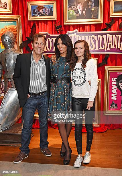 Duncan Bannatyne Nigora Whitehorn and her daughter Gabrielle attend a gala screening of Hotel Transylvania 2 at The Soho Hotel on September 27 2015...