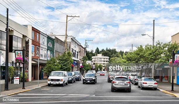 Duncan, British Columbia Street Scene