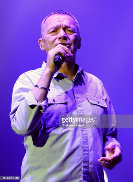 Duncan Campbell of UB40 performs live on stage at O2 Apollo Manchester on December 17 2017 in Manchester England