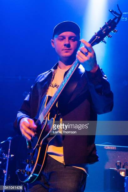 Duncan Couch of The Crooks performs at O2 Academy Islington on September 17, 2021 in London, England.