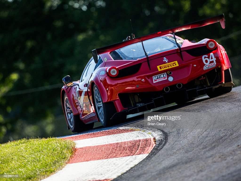 Duncan Ende Drives The Ferrari 458 Gt3 Italia During The Pirelli News Photo Getty Images