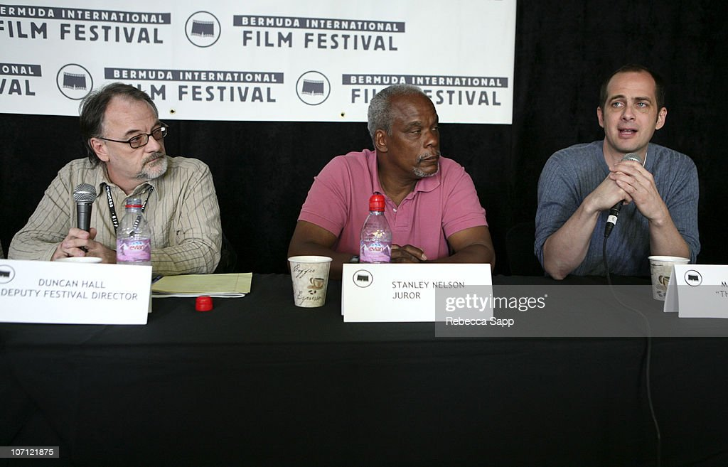 Duncan Hall, Deputy Festival Director, Stanley Nelson, BIFF Juror and Macky Alston, director of 'The Killer Within'