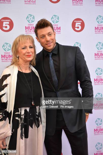 Duncan James and guest arriving at Tesco Mum of the Year Awards celebrating Britain's most inspirational mothers at The Savoy Hotel Strand in central...