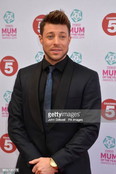 Duncan James arriving at the Tesco Mum of the Year Awards celebrating Britain's most inspirational mothers at The Savoy Hotel Strand in central London