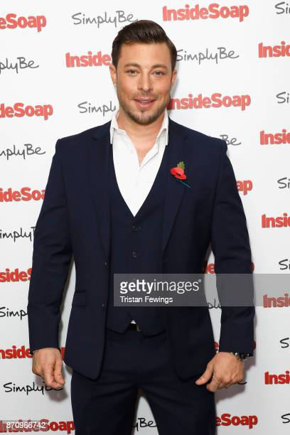 Duncan James attends the Inside Soap Awards held at The Hippodrome on November 6 2017 in London England