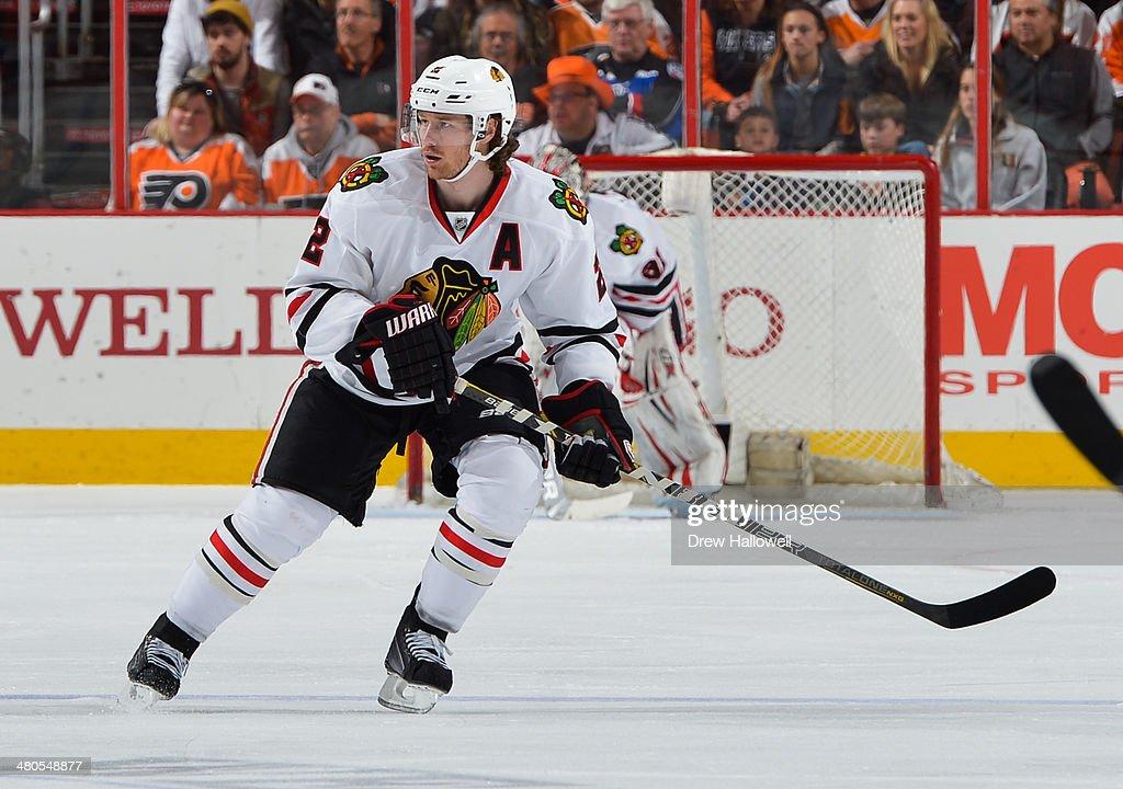 Chicago Blackhawks v Philadelphia Flyers : News Photo