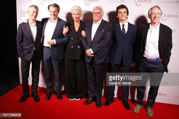 Duncan Kenworthy Anthony Calf Emma Thompson Richard Eyre Fionn Whitehead and Ian McEwan attend the UK Premiere of 'The Children Act' at The Curzon...