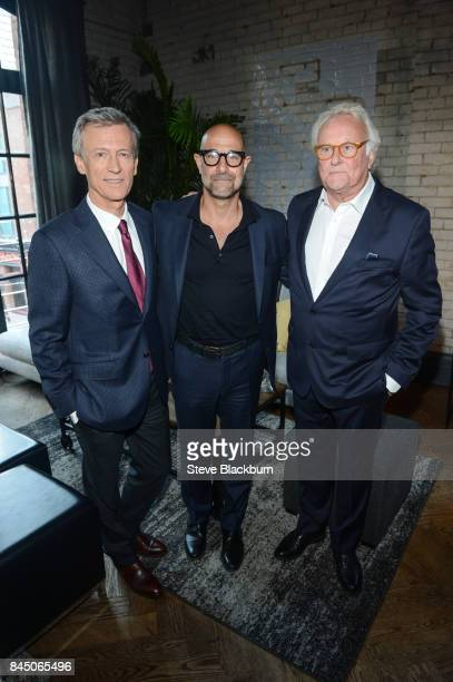 """Duncan Kenworthy, Stanley Tucci and Richard Eyre attend """"The Children Act"""" cocktail party at RBC House hosted by RBC for Toronto Film Festival 2017..."""