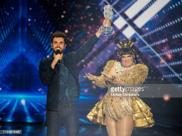 Duncan Laurence wins the 64th annual Eurovision Song Contest held at Tel Aviv Fairgrounds on May 17 2019 in Tel Aviv Israel