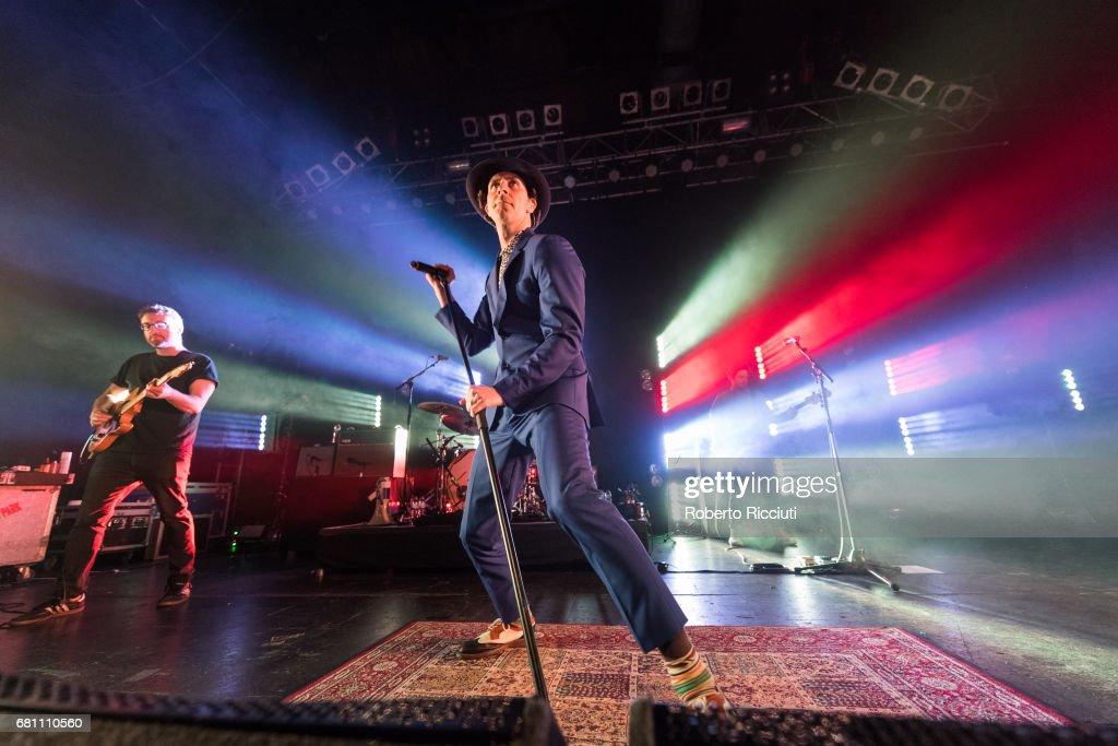 Maximo Park Perform At O2 ABC Glasgow : News Photo