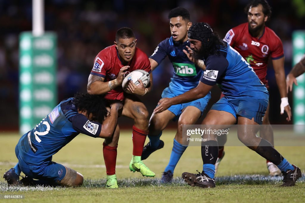 Super Rugby Rd 15 - Blues v Reds : News Photo