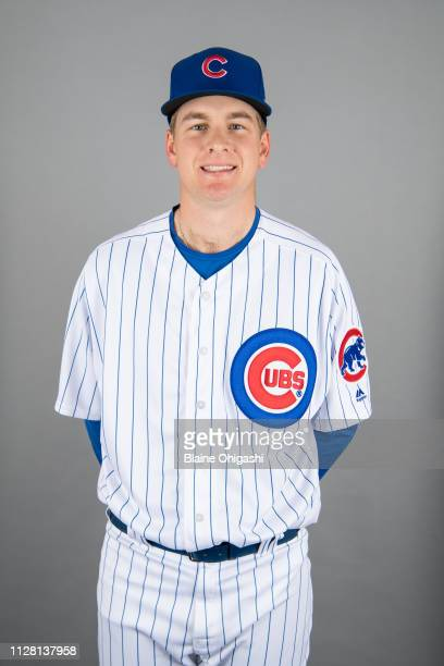 Duncan Robinson of the Chicago Cubs poses during Photo Day on Wednesday February 20 2019 at Sloan Park in Mesa Arizona