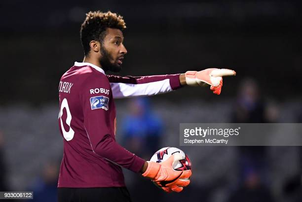 Dundalk Ireland 16 March 2018 Lawrence Vigouroux of Waterford during the SSE Airtricity League Premier Division match between Dundalk and Waterford...