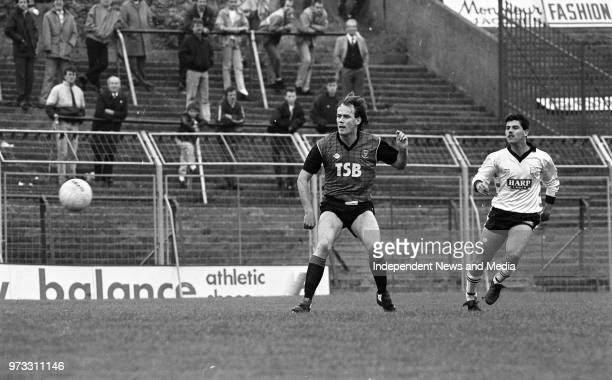 Dundalk V Bohemians in the Opel League of Ireland at Dalymount Park, Dublin, .